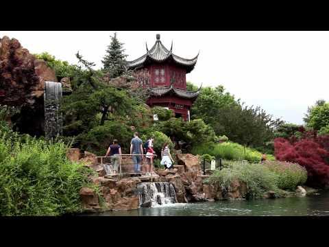 Le jardin botanique de Montréal - Québec, Canada
