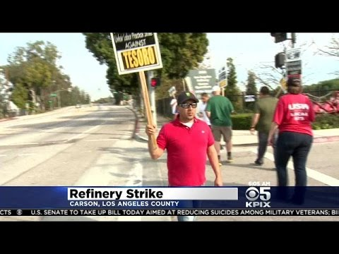 Union Asks Tesoro Refinery Workers In Martinez To Strike After Talks Break Down