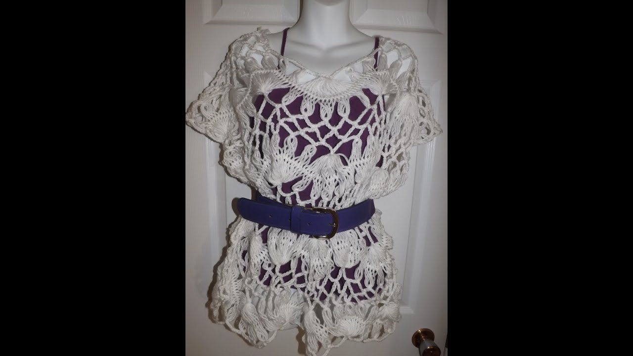 9b110b7d75625 Hairpin Lace Summer Blouse Part 3. Ruby Stedman