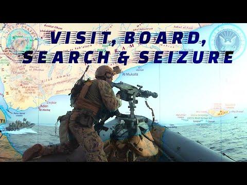 Navy & Marines VBSS Run in the Gulf of Aden (near Yemen)