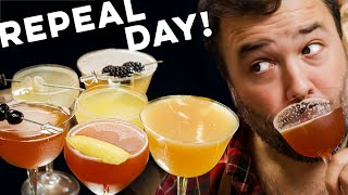 The Drinks of Prohibition! Repeal Day Special! | How to Drink