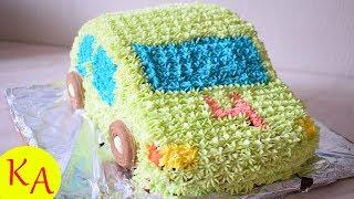 Детский торт машинка просто и доступно