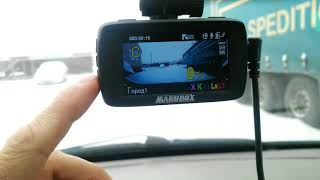 MARUBOX M600R .Обзор автомобильного видеорегистратора комбо устройство 3в1DVR+GPS+RADAR с Aliexpress