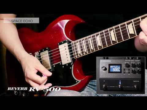 BOSS RV-500 Reverb Sound Preview