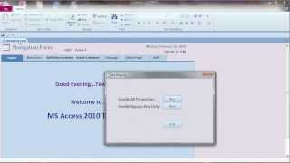 How to Set Security or Secure Database with VBA Part 1 :MS Access