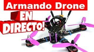 Pasos para armar un drone de carrera - Preguntas y Respuestas