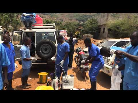 Canadian aid worker speaks from Ebola treatment centre in Guinea