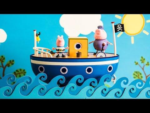 Peppa Pig Grandpa Pig S Boat Youtube