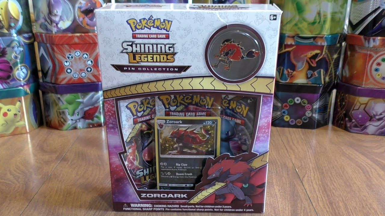 10x Shining Legends Booster Pack Pokemon Cards TCG