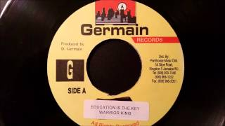 "Warrior King - Education Is Key - Penthouse 7"" (Storm Riddim) 2001"