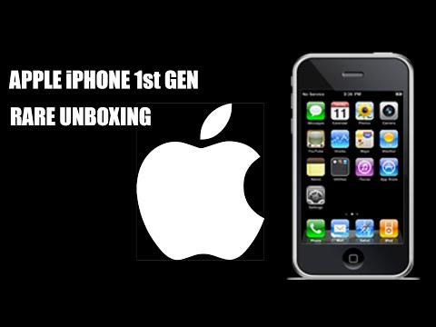 Iphone 1st generation | rare unboxing