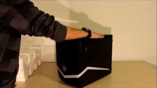 BitFenix Colossus MicroATX Case | Unboxing and Overview | TechiCanadian