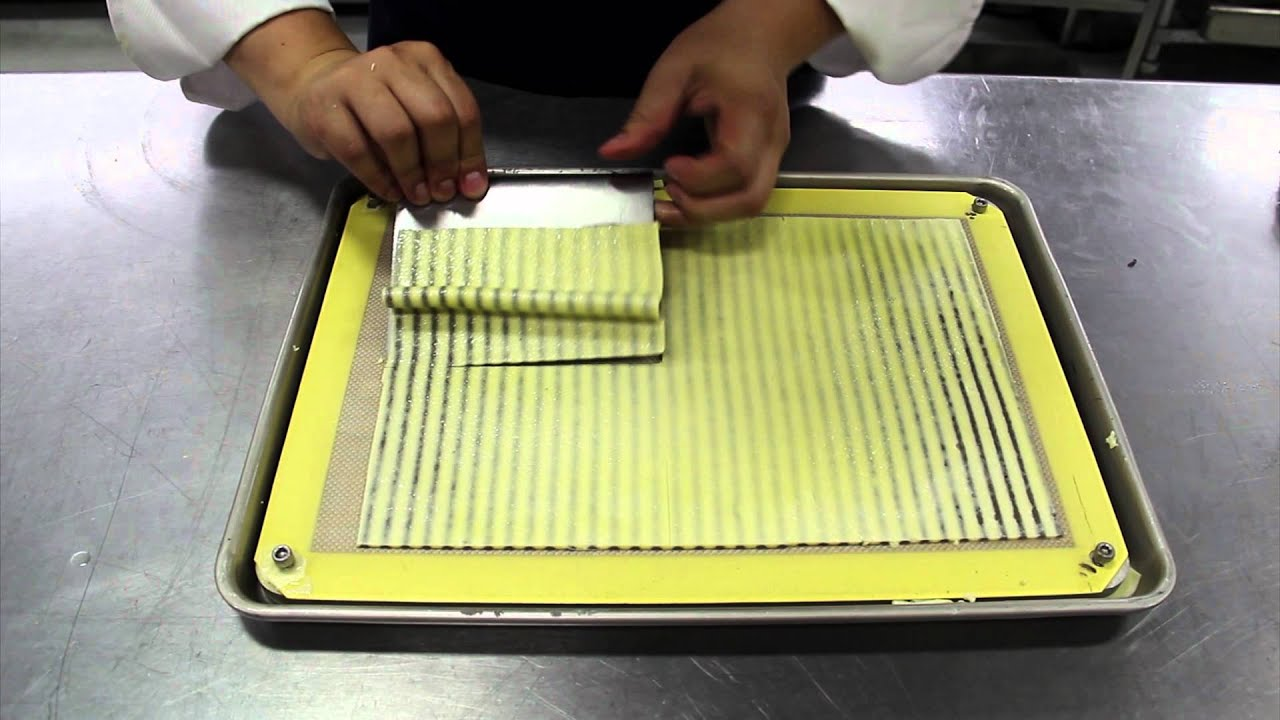 Modernist cuisine striped mushroom omelet youtube for Moderniser cuisine