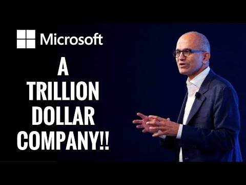 Microsoft to become the first Trillion Dollar Company