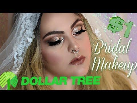 Dollar Tree Makeup Challenge: Bridal Edition