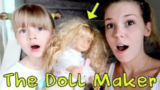 The Doll Maker visits My PB and J! The Doll Maker is controlling Mom!