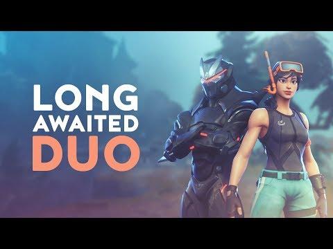LONG AWAITED DUO ft. Ninja (Fortnite Battle Royale)