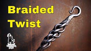 Forging a Braided Twist handle