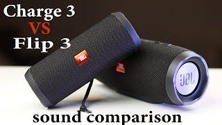 SOUND BATTLE: jbl Charge 3 vs jbl Flip 3 -the real sound comparison