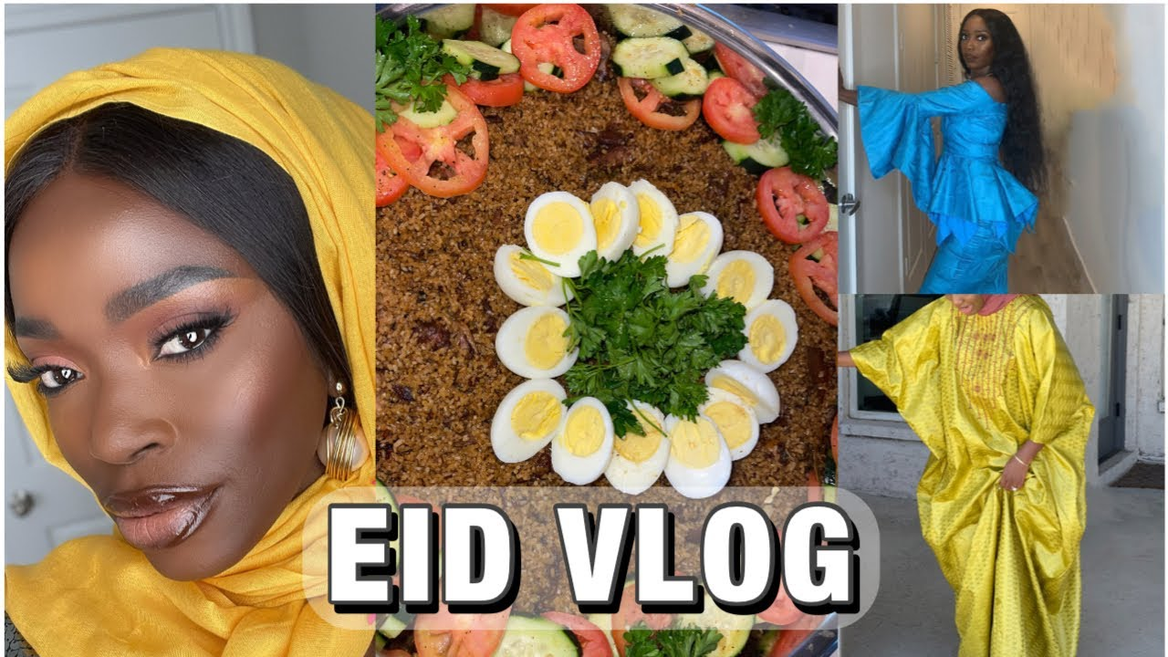EID VLOG   🇬🇲 HOW GAMBIANS CELEBRATE EID ( KORITEH ) IN AMERICA 🇺🇸