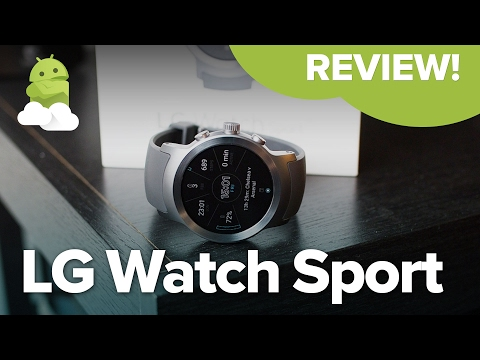 LG Watch Sport review — Best Android Wear 2.0 smartwatch!
