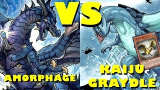 Real Life Yugioh - AMORPHAGE vs KAIJU GRAYDLE | May 2016 Scrub League