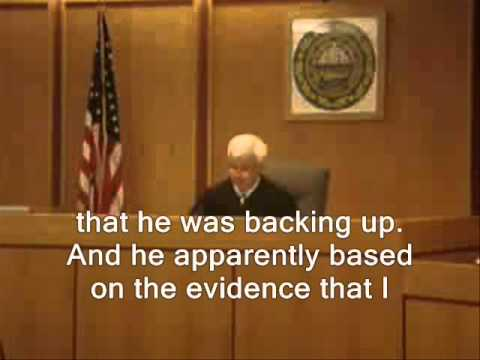 Judge Owns Cop In Court For False Arrest