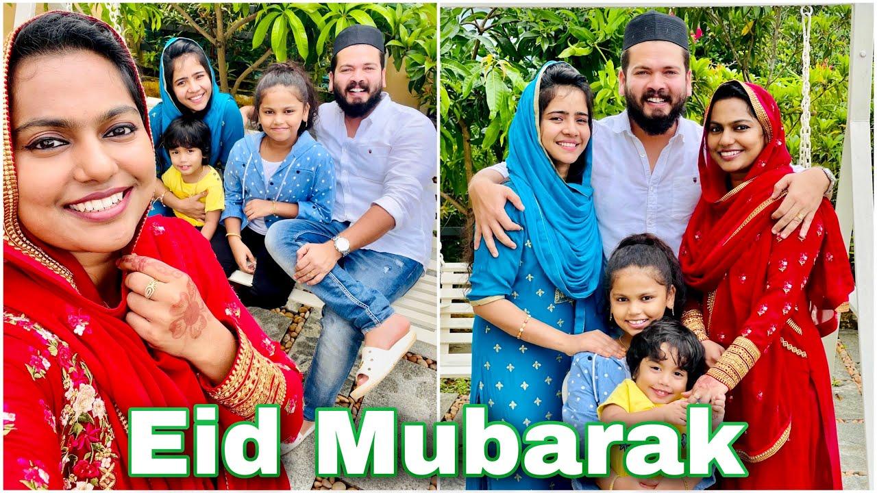 ഈദ് പൊളിച്ചടുക്കി 🥰 | Eid Mubarak ❤️ | Our Eid Day | Mashura | Basheer Bashi | Suhana