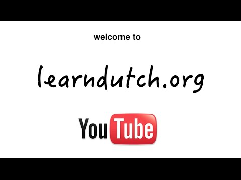 Learn Dutch. Subscribe to weekly video lesson !