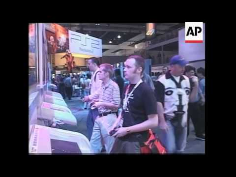 Gaming fans meet in Los Angeles for a consumers' fair