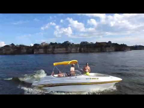 Possum Kingdom lake drone video
