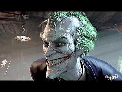 Batman Arkham Asylum THE MOVIE All Cutscenes