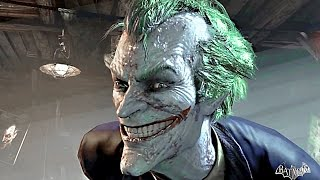 Batman Arkham Asylum THE MOVIE All Cutscenes