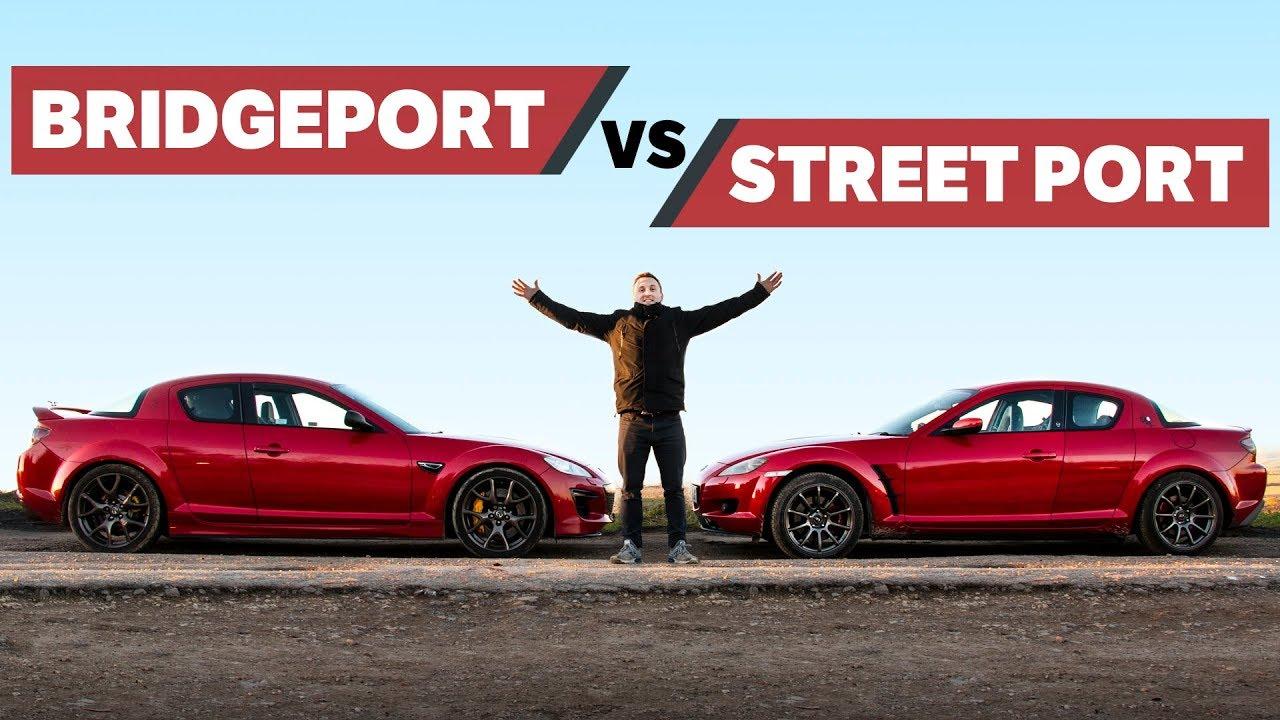 Die Unterschiede zwischen Bridgeported und Street Ported Rotary Engines + video