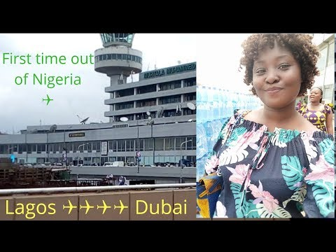 FIRST TIME FLIGHT | Lagos To Dubai | Travel Vlog | Victoria Ajadi