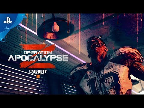 Call of Duty: Black Ops 4 — Operation Apocalypse Z Trailer | PS4