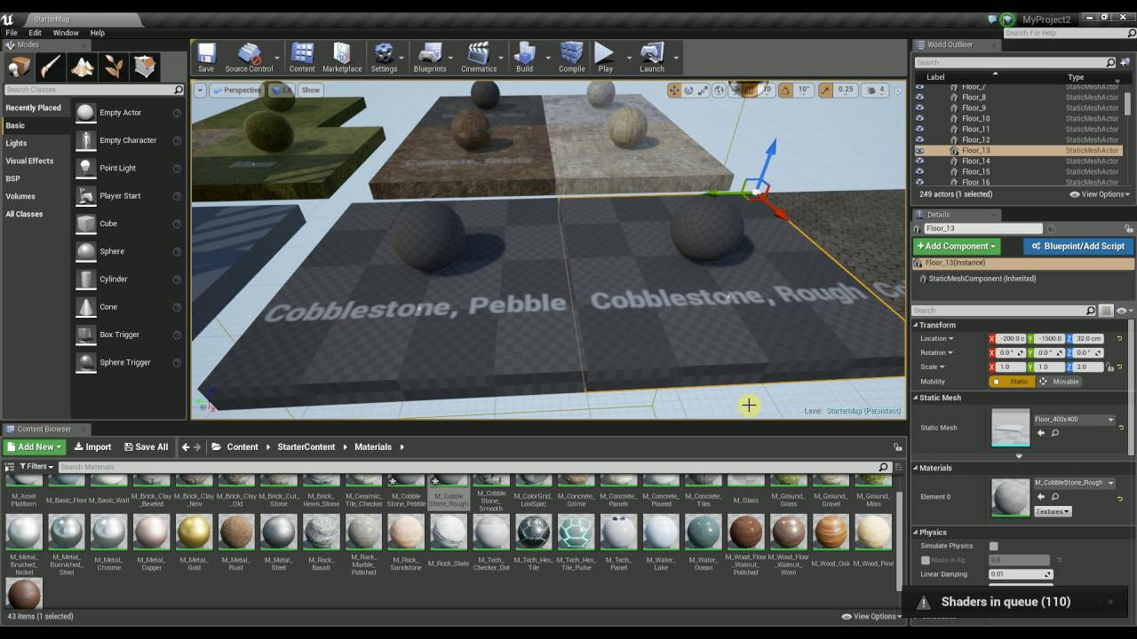 Unreal Engine 4 - Compiling Shaders Manually