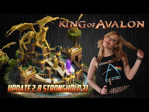 King of Avalon - Update 2.8: Stronghold Lv. 31 introduced by Lady of Avalon
