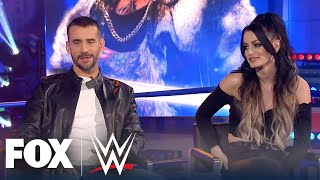 CM Punk approves of King Corbin humiliating Roman Reigns | WWE BACKSTAGE | WWE ON FOX