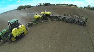 Planting corn 2014
