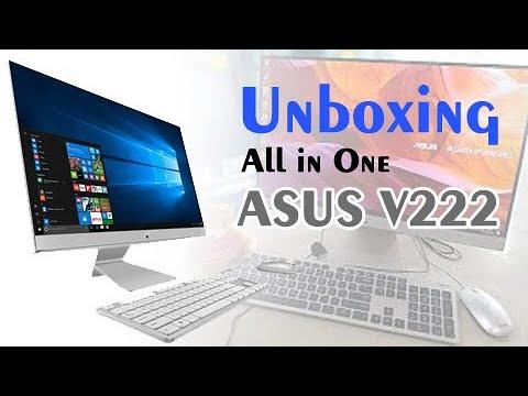 Unboxing all in one desktop ASUS V222U