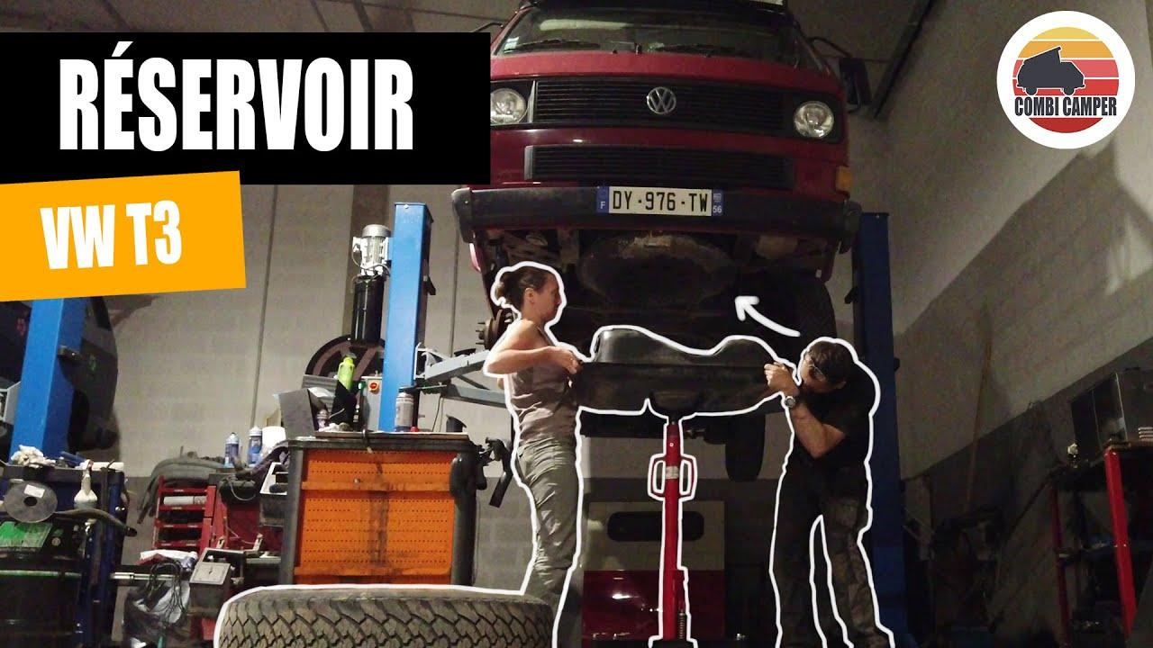[Entretien VW T3] Réservoir de carburant - Refaire l'étanchéité