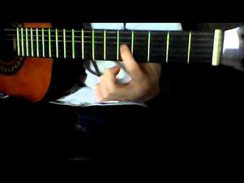 How to play C power chord on guitar - YouTube