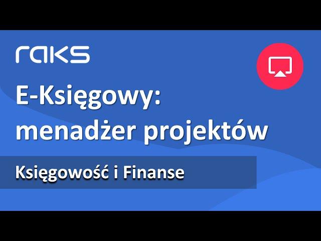 E-Księgowy | Menadżer projektów | Akceptacja dokumentów | Aplikacja mobilna.