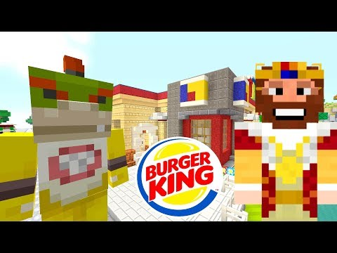 BOWSER JR *HATES* BURGER KING! GROSS!  Nintendo Fun House  Minecraft Switch 297