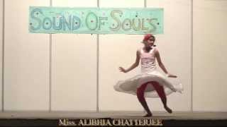 DANCE ON SONG EK DO TEEN BY Miss. ALIBHIA CHATTERJEE,AT A.F. STATION YELAHANKA, ON 12-10-2013