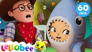 Halloween Baby Shark Dance More Nursery Rhymes and Kids Songs   ABCs & 123s   Little Baby Bum
