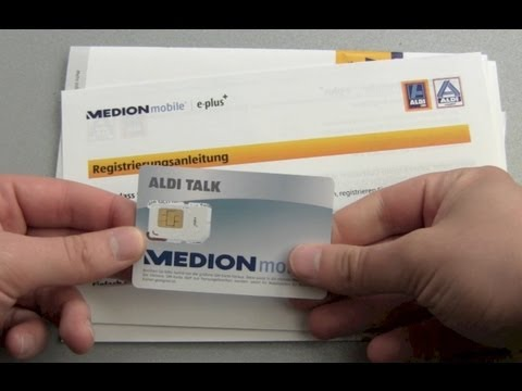 ALDI Talk SIM Karte Starterset Unboxing from YouTube · Duration:  3 minutes 21 seconds