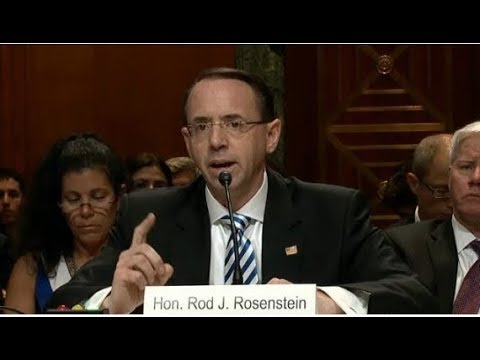 DEPUTY AG ROSENSTEIN WARNS MUELLER  NO INVESTIGATING CRIMES OUTSIDE RUSSIAN INTERFERENCE WITHOUT PER