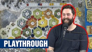A Game of Thrones: CATAN - Brotherhood of the Watch - Playthrough